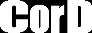 CorD logo - white